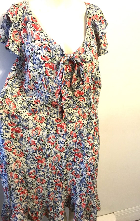 XLarge floral dress