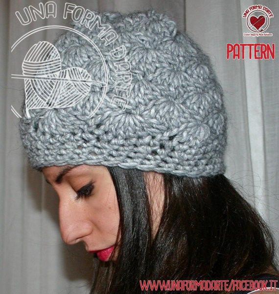 Items Similar To Crochet Pattern Schema Italianopunto Ventaglio