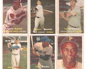 1957 Topps Complete Set 1-407 Good/EX