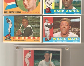 1960 Topps Complete Set 1-572 VG-EX
