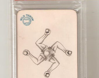 1884 Lawsons Patent Wild Throw Base Ball Game PSA 9 Mint