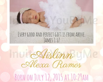 baby announcement, birth announcement, baby girl, baby boy, announcement