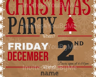 christmas party, holiday party