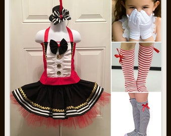 d25c084f3 Greatest Showman Costume, Pageant Ringmaster, Greatest Showman , Circus  Ringmaster costume, circus outfit, tutu circus