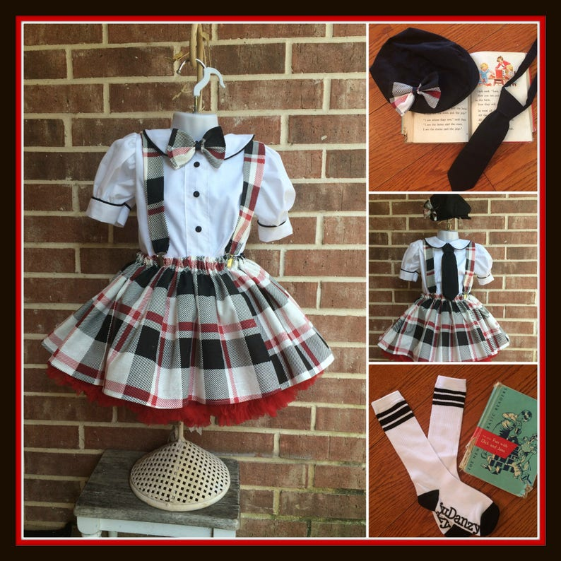 a227830f9 Back to School Pageant wear School Girl outfit collegiate | Etsy