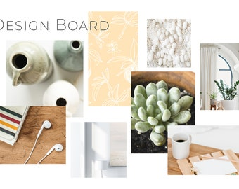 design mood board etsy