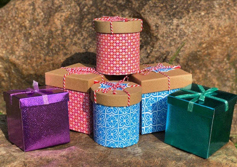 Gift Boxes for stemless wine glasses image 0