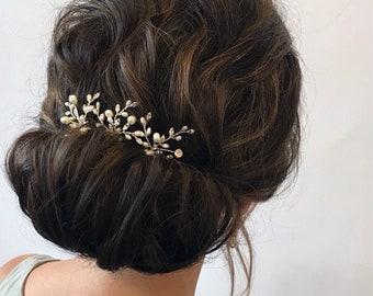Red hair pin for Bride Monimaism bridal hair accessories Burgundy Bobby pin bohemian headpiece Crystal Hairpiece Bridesmaid Hair Piece