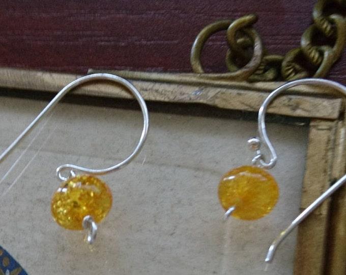 Amber earrings, sterling silver gemstone earrings, summer jewelry, gift for her,amber drops,  silver jewellery, summer jewellery, gift,