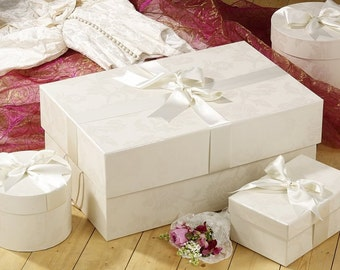 Personalised Wedding Dress Storage Box DIY sticker/decal