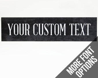 Custom Metal Sign Etsy
