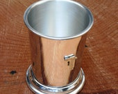 Vernier Measuring Callipers Mint Julep Cup English Pewter Gift 542