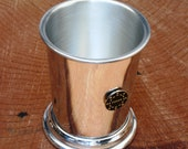 Poker Chip Mint Julep Cup English Pewter Gift 543