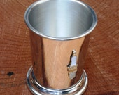 Spark Plug Mint Julep Cup English Pewter Gift 555