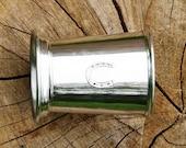 Mint Julep Cup English Pewter Horse Shoe Emblem Gift 190