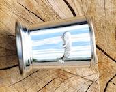 Julep Cup English Pewter Sperm Whale Emblem Mammal Wildlife Gift 392