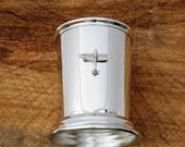 Spitfire Mint Julep Cup English Pewter RAF Pilot Gift 342