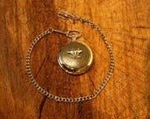 Anvil Design Pocket Watch Pewter Gift Boxed FREE ENGRAVING Blacksmiths Present 007