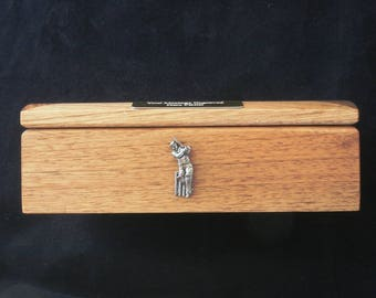 Cricketer Personalised Luxury Wooden Wine Box Ideal Cricketer Gift 89