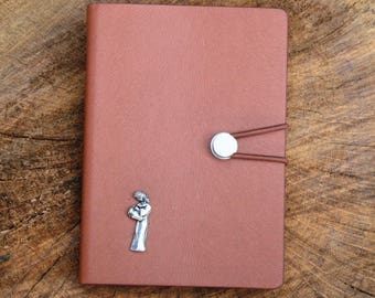 Aries The Ram Notebook A6 Memo Jotter Constellation Gift Pocket Size