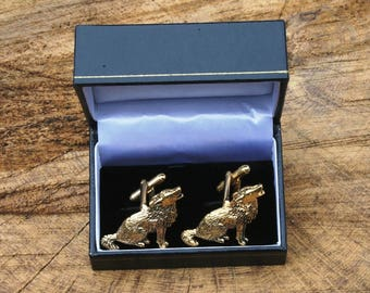 Ashton and Finch Frog English Pewter Novelty Gift Cufflinks