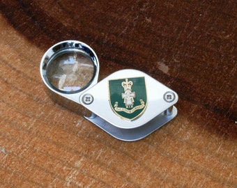 Green Howards Shield Smokers Pipe Tamper Tool with Bowl Scraper Personalised with your Initials Present BKG40