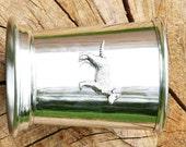 Julep Cup English Pewter Labrador Emblem Gift 207