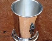 Soldier Mint Julep Cup English Pewter Gift 561
