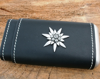 Edelweiss S Petrol Lighter Windproof FREE ENGRAVING Flower Gift 115
