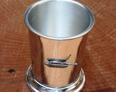 Challenger Tank Mint Julep Cup English Pewter Gift 563