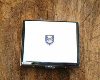Merchant Navy Shield Metal Card Holder Pocket Size Ideal Military Gift BGK58