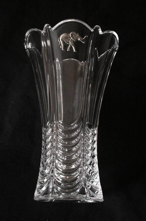 Giraffe Design Cut Crystal Glass Decanter Safari Gift