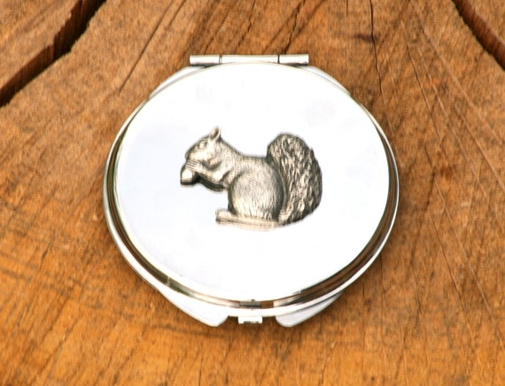 Squirrel Design Stainless Steel Hip Flask Gift Boxed 344