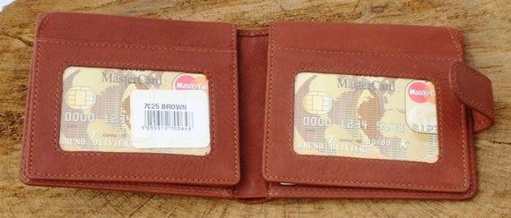 Whale Leather Wallet pewter emblem BLACK or Brown wildlife sealife Gift  392