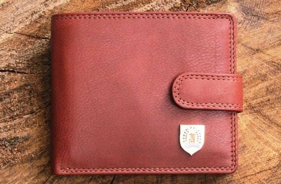 Border Terrier Mens Leather Wallet BLACK or Brown Top Quality shooting Gift 037
