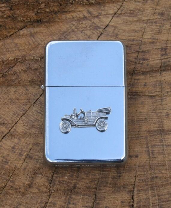 Vintage Car Windproof Petrol Lighter FREE ENGRAVING Car Lover Gift 385