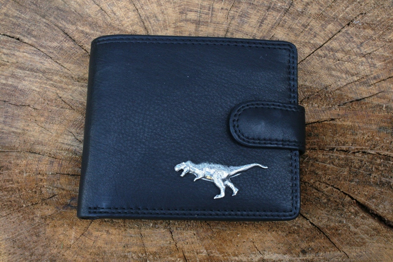 T-Rex leather wallet