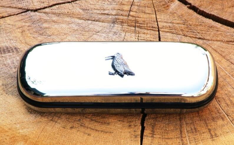Lunettes oiseau bécasse spectacles cas chasse cadeau Gravure Libre