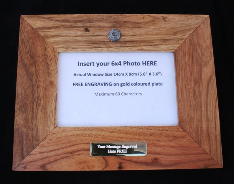 Clays 100 Wooden Photo Picture Frame Gift Landscape Or Portrait Clay Shooting Gift 75