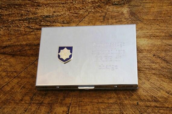 Bouclier de gardes irlandais calculatrice crédit/entreprise titulaire de la carte sans gravure cadeau militaire ME17