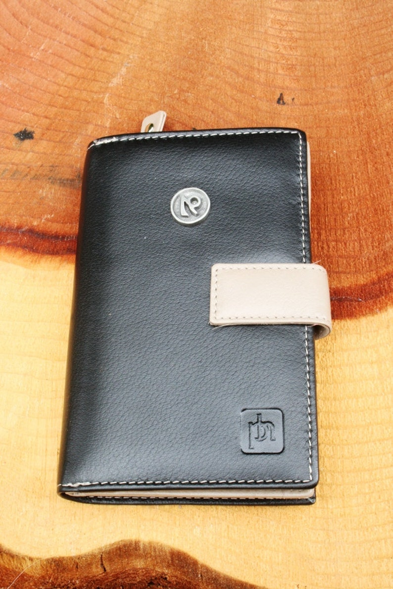 Capricorn Zodiac Design Leather Purse with Zipped Compartments RFID Protected Ladies Gift 64