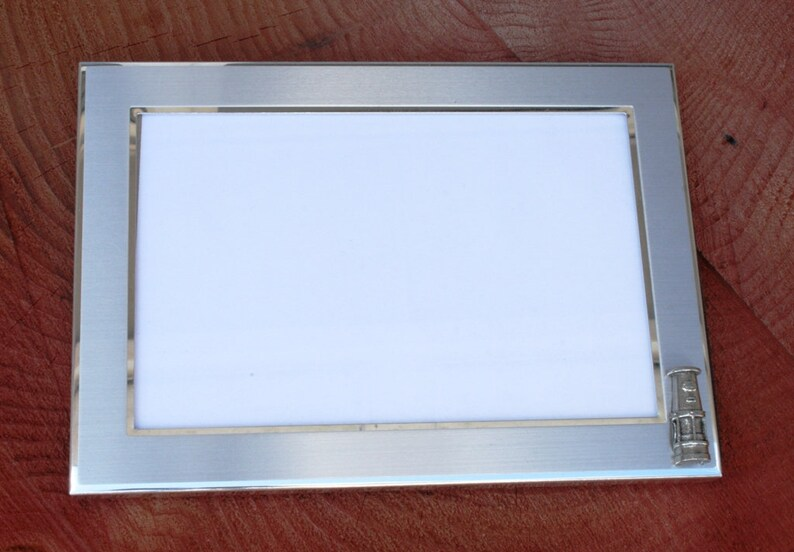 Davy Lamp Picture Frame Gift Landscape Or Portrait Miners Present 100