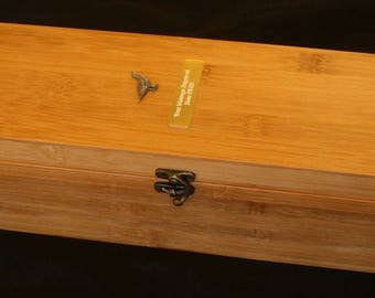 Grouse Sitting Wooden Wine Box 5 Piece Set FREE Engraving Grouse Shooting Gift