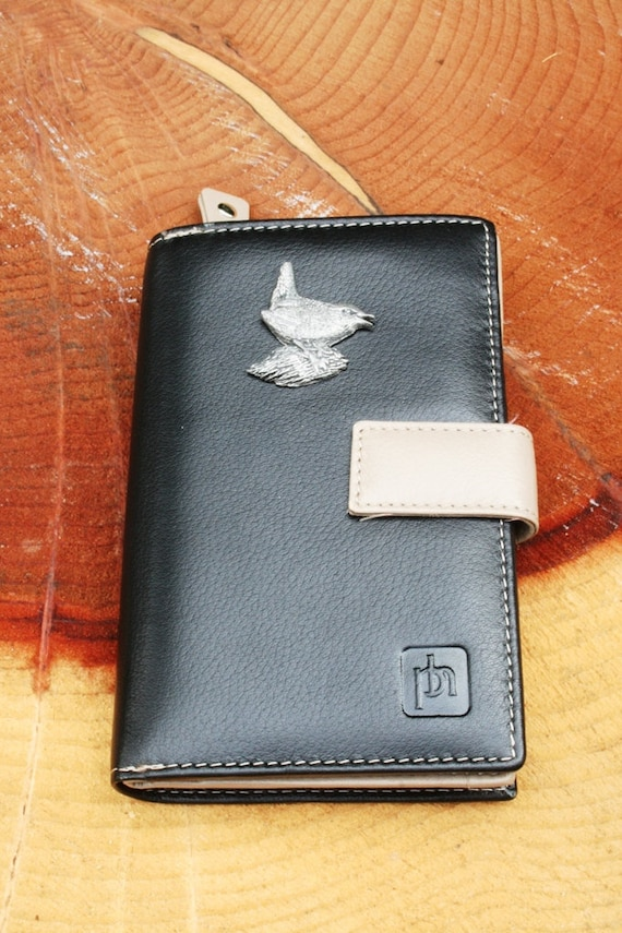 Welsh Dragon Design Leather Purse with Zipped Pocket RFID Safe Women/'s Gift