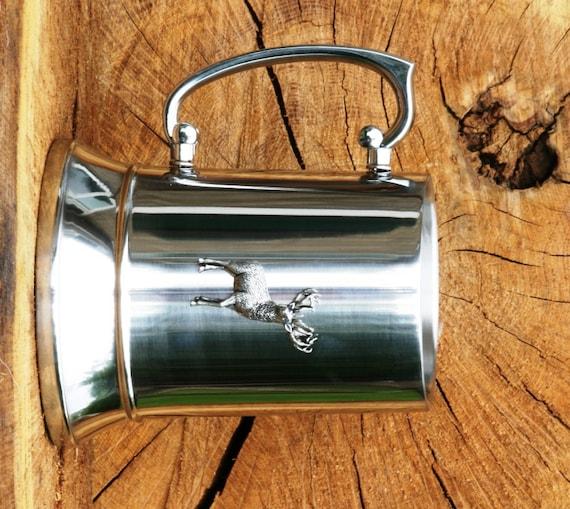 Border Terrier 1 Pint Stainless Steel Beer Tankard Mug Jug FREE UK POSTAGE