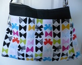 Black Bow Tie Purse Diaper Bag