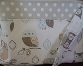 Owls in Pastel Purse Diaper Bag