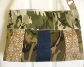 Multi-Military Upcycle Purse Diaper Bag