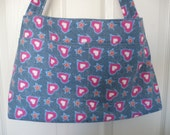 Pink Hearts Purse Diaper Bag