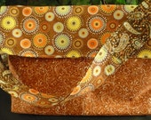 Paisley Green & Brown Pur...